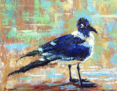 You Looking at Me? 11x14 oil; available at Watson\'s Gallery, Atlanta, Ga.