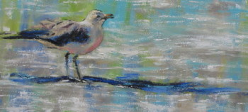 Oh What a Beautiful Morning,,,; 12x24 oil ; available at The Pink Rooster, Ocean Springs, Ms.