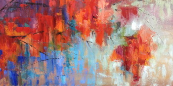 Dripping; 12x24; oil available at The Pink Rooster Ocean Springs, Ms.
