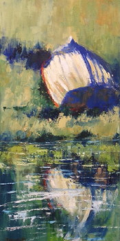 Upside Down; 20x10 oil Sold
