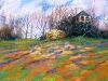 Day Before Spring pastel 23x33 $ 1000.00