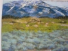 South Tahoe Valley; pastel 18x24 $ 90.00