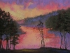 sunrise_on_the_lake available at The Quinlan Visual Arts Center