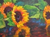 Three Sunflowers sold
