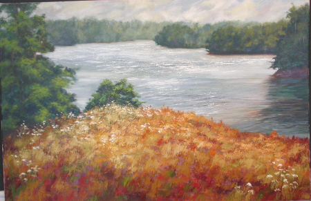 Lake Bluff oil 24×36
